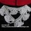 """ปกเสื้อโครเชต์ รหัส 05-009 ขนาด2.5""""x23.5"""" thumbnail 1"""