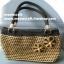 กระเป๋าถือเชือกร่มลายหวาย รหัสPB001 ก้นกระเป๋า 8x26ซม. สูง 20ซม. thumbnail 5