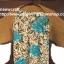 """เสื้อคลุมโครเชต์ #07-001 แขนกว้าง 18"""" ยาว 16"""" ช่วงกว้างลำตัว 39"""" thumbnail 9"""