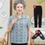 เสื้อคุณแม่สูงวัย เสื้อผ้าผู้ใหญ่ สวยๆ ชุดคุณนาย ผู้หญิงอายุ40-60 วัยกลางคน thumbnail 1