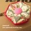"""กระเป๋าสตางค์ 6 แฉกแบบ 2 สี ขนาด 3.7"""" #099-074 thumbnail 2"""