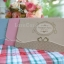 A182 การ์ดแต่งงานแบบพับ (ชมพู,ครีม,ฟ้า) thumbnail 1