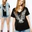 เสื้อผ้าแฟชั่นสไตล์ยุโรป เรียบ หรู XS S M L XL 2XL thumbnail 1