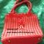 กระเป๋าถือเชือกร่ม รหัส90-001 ก้นกระเป๋า10x20ซม. สูง 23ซม. thumbnail 1