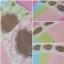 CG331 การ์ดแต่งงานแนวตั้ง แบบใบเดี่ยว มี 3 สี (ชมพู,เขียว,ฟ้า) thumbnail 1