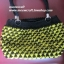 กระเป๋าถือเชือกร่มสตอเบอรี่ รหัสPB007 ก้นกระเป๋า 8.5x24ซม. สูง 22ซม. thumbnail 4