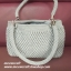 กระเป๋าถือเชือกร่มหยดน้ำ รหัสPB002 ก้นกระเป๋า 8x24ซม. สูง 19ซม. thumbnail 7