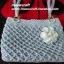 กระเป๋าถือเชือกร่ม รหัสPB020 ก้นกระเป๋า 11x 24ซม. สูง 22ซม. thumbnail 2