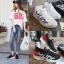 รองเท้าผ้าใบ รองเท้าผ้าใบผู้หญิงรองเท้าแฟชั่นผ้าใบเบาใส่สบาย thumbnail 1