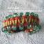 """สร้อยข้อมือเชือกร่มลูกปัด #BRR026 size 7.5"""" thumbnail 4"""
