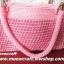 กระเป๋าถือเชือกร่มลายหวาย รหัสPB005 ก้นกระเป๋า 10x30ซม. สูง 21ซม. thumbnail 13