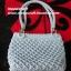 กระเป๋าถือเชือกร่ม รหัสPB020 ก้นกระเป๋า 11x 24ซม. สูง 22ซม. thumbnail 3