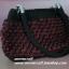 กระเป๋าถือเชือกร่มสตอเบอรี่ รหัสPB006 ก้นกระเป๋า 7x32ซม. สูง 20ซม. thumbnail 4