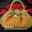 กระเป๋าถือเชือกร่ม รหัสPB022 ก้นกระเป๋ายาว 42 ซม. สูง 20ซม. thumbnail 5