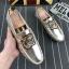 รองเท้าโลฟเฟอร์ชาย รองเท้าผู้ชาย รองเท้าแฟชั่นชาย รองเท้าหนังผู้ชาย Men Loafer Slip-On Shoes thumbnail 1