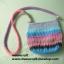 กระเป๋าถือเชือกร่ม รหัส90-005ก้นกระเป๋า 5x16.5ซม. สูง19.5ซม.สายยาว thumbnail 4