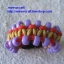 """สร้อยข้อมือเชือกร่มลูกปัด #BRR011 size 6.7"""" thumbnail 2"""