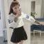 เสื้อเชิ้ตแฟชั่น น่ารักๆสไตล์เกาหลี thumbnail 1