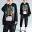 เสื้อ OVERSIZE ตัวใหญ่ เหมาะสำหรับผู้สวมน้ำหนักตัว50-100 กิโลกรัม มีไซส์เดียว*อกกกว้างมากกว่า100เซนติเมตร thumbnail 1