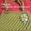 กระเป๋าถือเชือกร่ม รหัสPB015 ก้นกระเป๋า 8x22ซม. สูง 20ซม. thumbnail 3