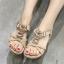 รองเท้าคัทชู รองเท้าแฟชั่นสตรี High-heeled shoes women sandals thumbnail 1