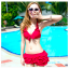 ชุดว่ายน้ำ bikini M L XL 2XL thumbnail 1