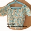 เสื้อโครเชต์ #CC005 รอบอก76ซม.ยาว45ซม.วงแขน30ซม. thumbnail 1