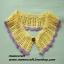 """ปกเสื้อโครเชต์ รหัส 05-083 ขนาด3""""x22"""" thumbnail 1"""