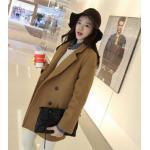 ไซส์ M : เสื้อโค้ทกันหนาว สไตล์เกาหลี ทรงเรียบง่าย ทรงยาว ดูดี ผ้าวูลผสมบุซับในกันลม จะใส่คลุม หรือใส่เป็นโค้ทก้สวยเก๋ พร้อมส่งจ้า