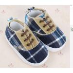 รองเท้าผ้าใบ เด็กเล็ก เด็กผู้ชาย เด็กผู้หญิง ลายสก๊อต สีน้ำเงิน สวยน่ารัก สไตล์ ลูกผู้ดี คุณหนู มาก ๆ ค่ะ รองเท้าเด็ก ใส่สบาย มีสไตล์ 14301