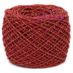 #S-019 (สีแดง ดิ้นทอง)