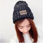 สีเทา : หมวกไหมพรม ทรงยอดฮิต หลากสี เกาหลีสุดๆ