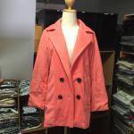 L : CLASSIC OLD ROSE COAT [ เสื้อโค้ท กันหนาว สีโอรส ] พร้อมส่ง