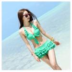 ชุดว่ายน้ำ bikini M L XL 2XL