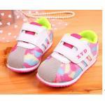 รองเท้าผ้าใบ เด็กผู้หญิง ผู้ชาย ใส่ได้ รองเท้าผ้าใบเด็ก โทนสีชมพู หวาน ๆ คาราเมล ลายพราง สีสดใส หนานุ่ม ใส่สบาย รองเท้าเด็ก แบบเก๋ ๆ ราคาถูก 518721_1