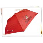 ร่มพับได้ ร่มกันแดด กันฝน Angry Bird สีแดง