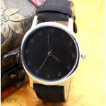 นาฬิกาข้อมือผู้หญิง นาฬิกาข้อมือ ผ้ายีนส์ ดีไซน์เก๋ นาฬิกา แนว Sport เท่ ๆ ใส่กับ ชุดยีนส์ มีสีให้เลือก เหลือง แดง ฟ้า เขียว น้ำตาล ดำ เข้ากับชุด 33761