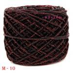 #M-10 (ดำ ดิ้นแดง)