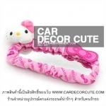 Hello kitty pink pettern หุ้มกระจก