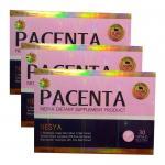 สั่งซื้อ กลูต้า PACENTA NESYA วิตามินอนุพันธ์ ผิวขาว 3 กล่องๆละ 400 บาท