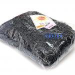 เชือกร่ม (500 กรัม) #727 (สีกรมเข้ม ดิ้นเงิน)