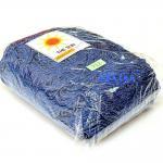 เชือกร่ม (500 กรัม) #712 (สีน้ำเงิน ดิ้นเงิน)