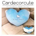 KITTY-ชุด ANGLE BLUE หมอนหัวใจ