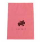 สีชมพู 24x25 : ถุงซิปล๊อก ลายน่ารักสำหรับใส่ของ แยกเป็นสัดส่วน ตอนเดินทาง