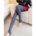 สีเทา : Legging เลกกิ้งกันหนาว ลองจอน เลขตัวเดียวกำลังดี ด้านในเป็นขนนุ่ม ยืดได้เยอะ กระชับทรง พร้อมส่งเลยจ้า