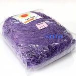 เชือกร่ม (500 กรัม) #711 (สีม่วงเข้ม ดิ้นเงิน)