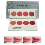 Laneige Silk Intense Lipstick 4 Color Lip Palette 1g.*4