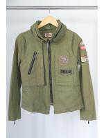 แจ็คเก็ตสีเขียว Made in Korea