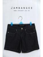 กางเกงยีนส์ขาสั้นแบรนด์ Jambangee