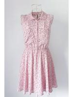 เดรส H&M สีชมพูแขนกุด